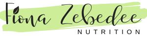 Fiona Zebedee Nutrition